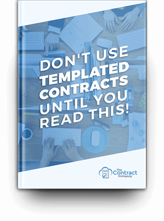 FREE Report: Don't Use Templated Contracts Until You Read This!